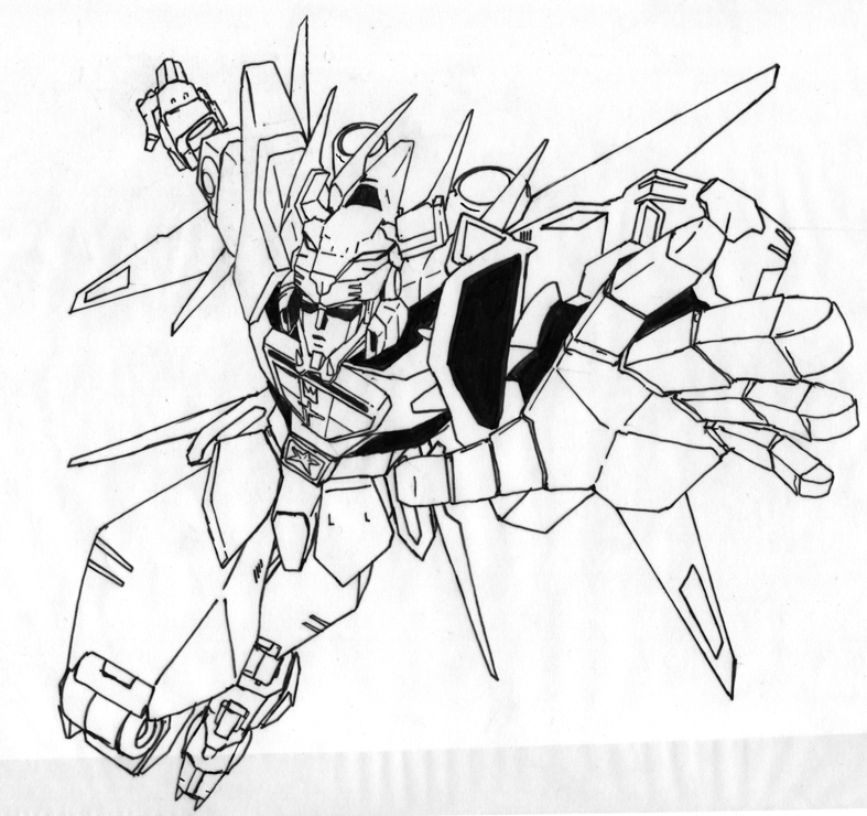 Voltron Line Art By Edwardrigaud On DeviantArt - Coloring Home