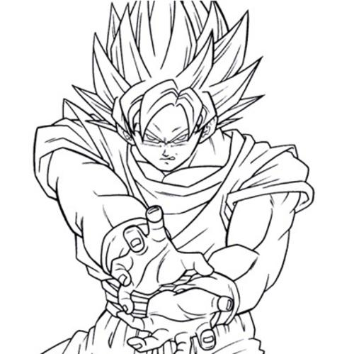 - Dbz Coloring Book - Eassume.com - Coloring Home