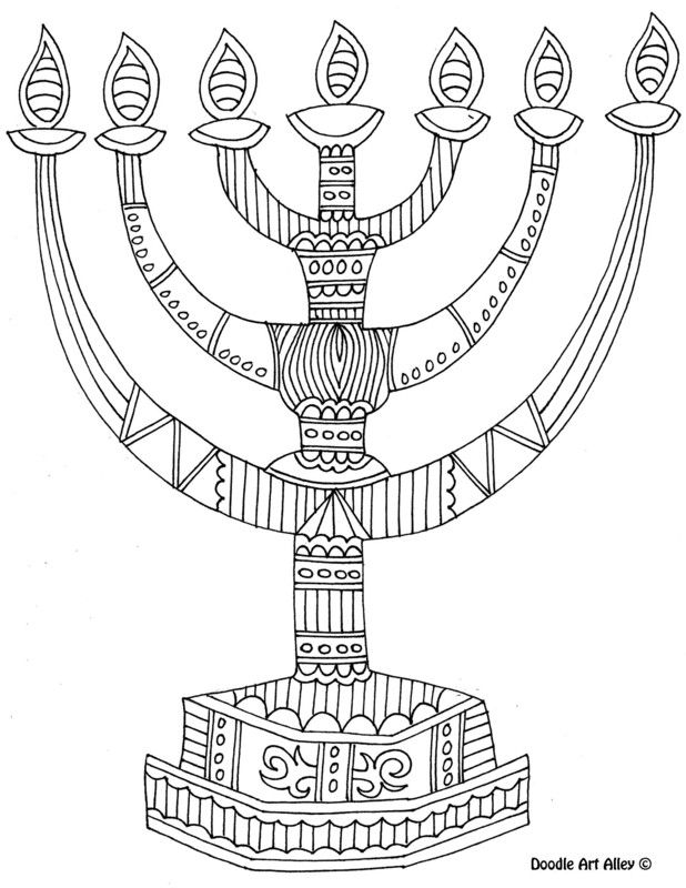 free jewish holiday coloring pages - photo#34