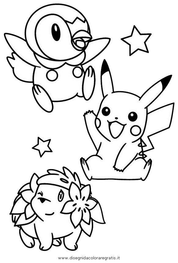 legendary pokemon coloring pages free - piplup legendary pokemon coloring page free printable