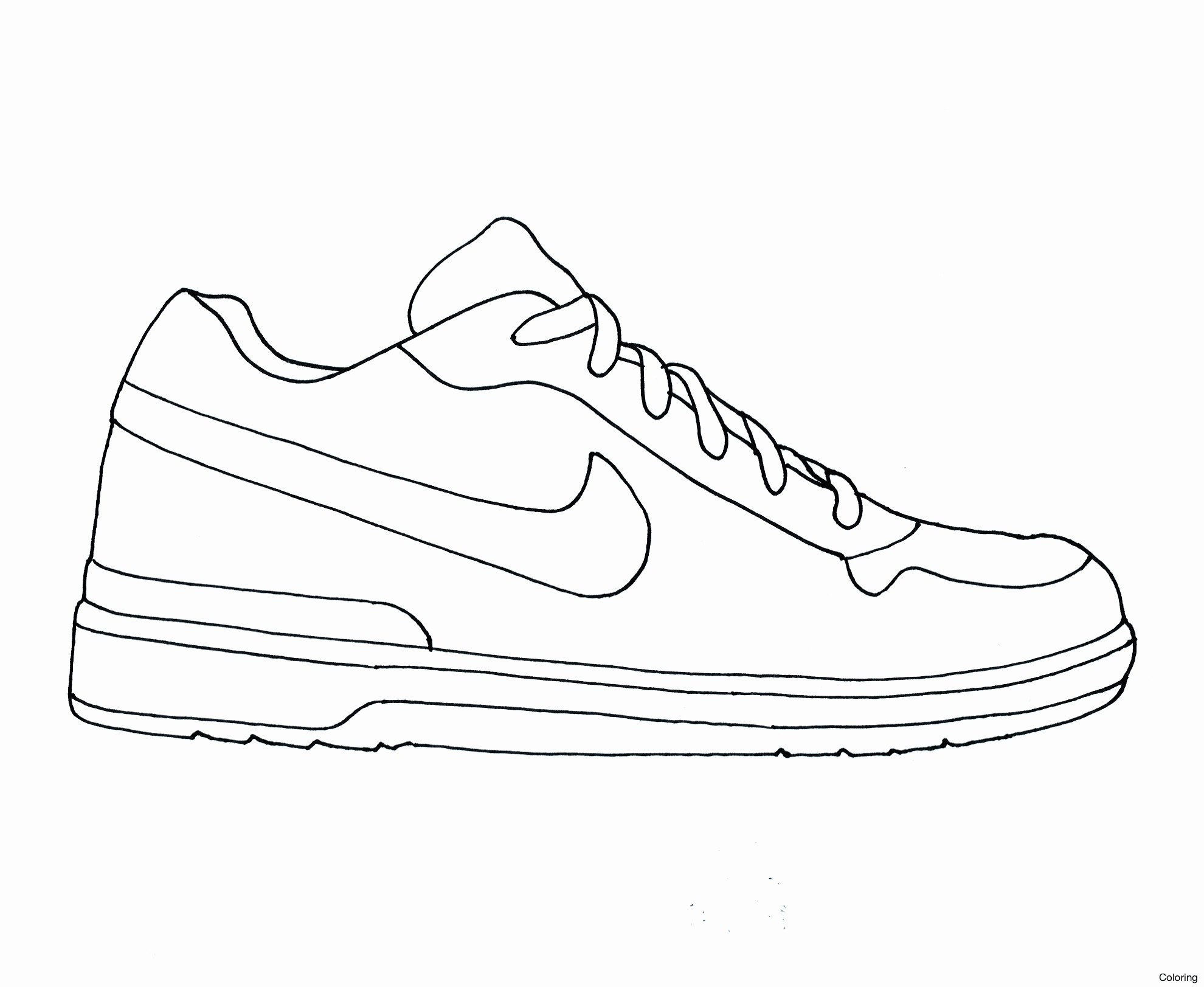 coloring ~ Awesome Nike Shoes Coloring Pages Marinamool Com ...