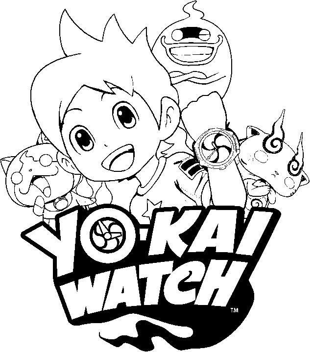 Yo Kai Watch Coloring Pages Home