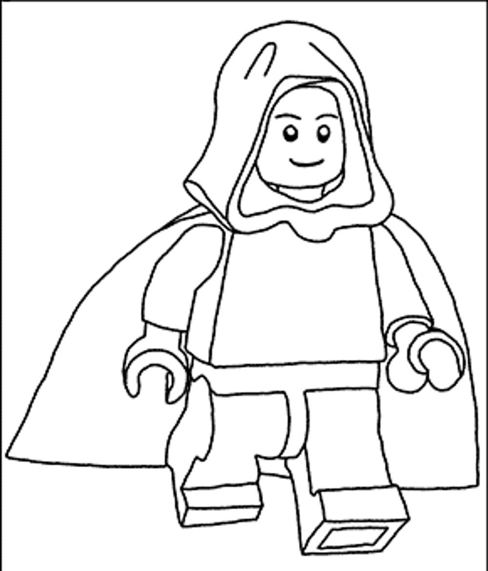 Free Coloring Pages Star Wars Characters