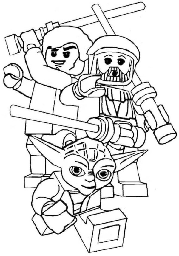 Star Wars Lightsaber Coloring Pages - Coloring Home