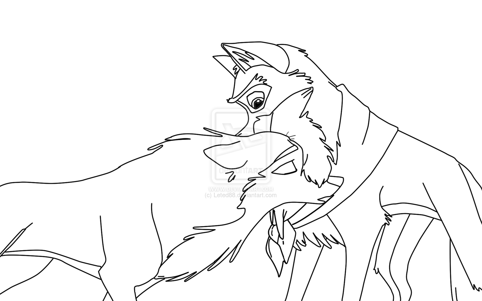 Balto Coloring Pages Printable - Coloring Home