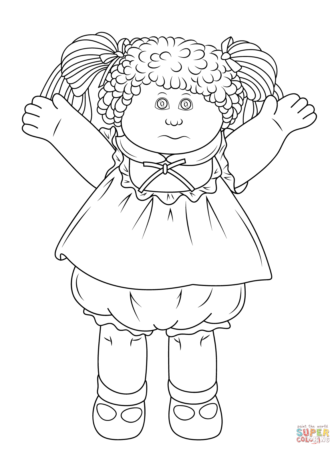 Cabbage Patch Kids - Cabbage Patch Theme = Tema De Los Cabbage Patch Kids