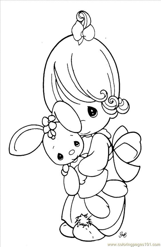 Precious Moments Christmas Coloring Pages Free Coloring Home