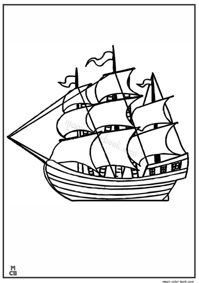 british sailing warship coloring pages - photo#41