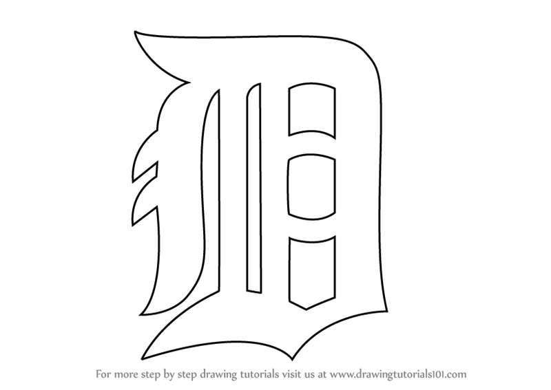 detroit tiger coloring pages - photo#6