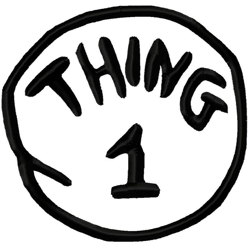 17+ Thing One Thing Two Clipart