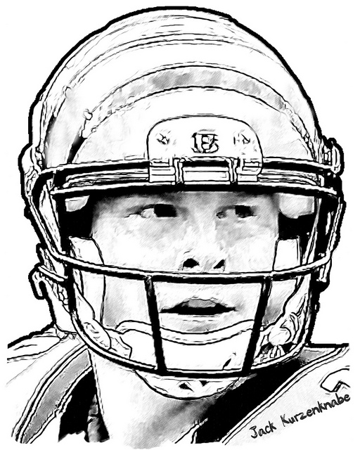 cincinnati bengals coloring pages coloring home Cincinnati Bengals Coloring Pages  Bengals Coloring Pages