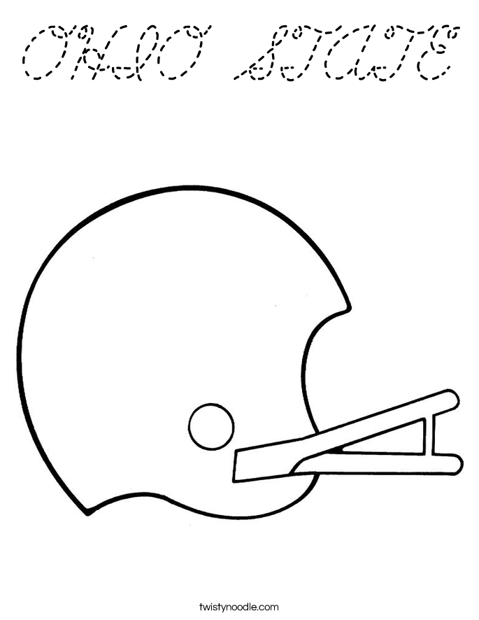 brutus the buckeye coloring pages - photo#21