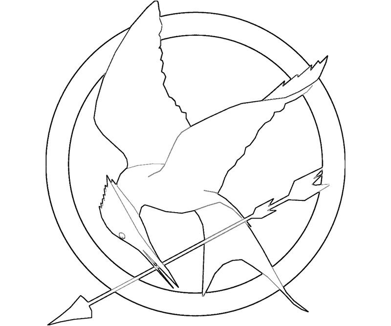 Free Printable Coloring Pages Hunger Games Coloring Pages