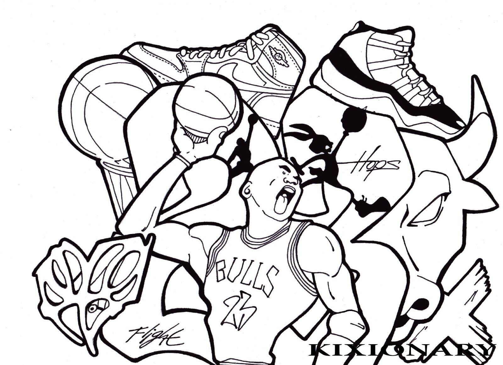 jordan coloring pages for kids - photo#20