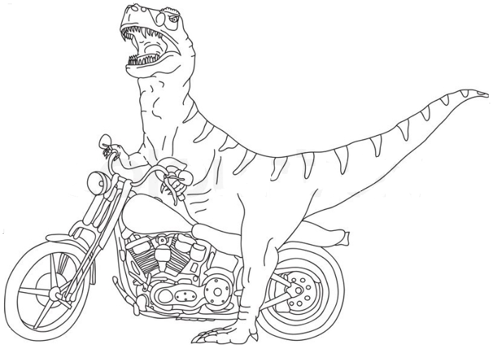Indominus Rex Coloring Pages Coloring Home