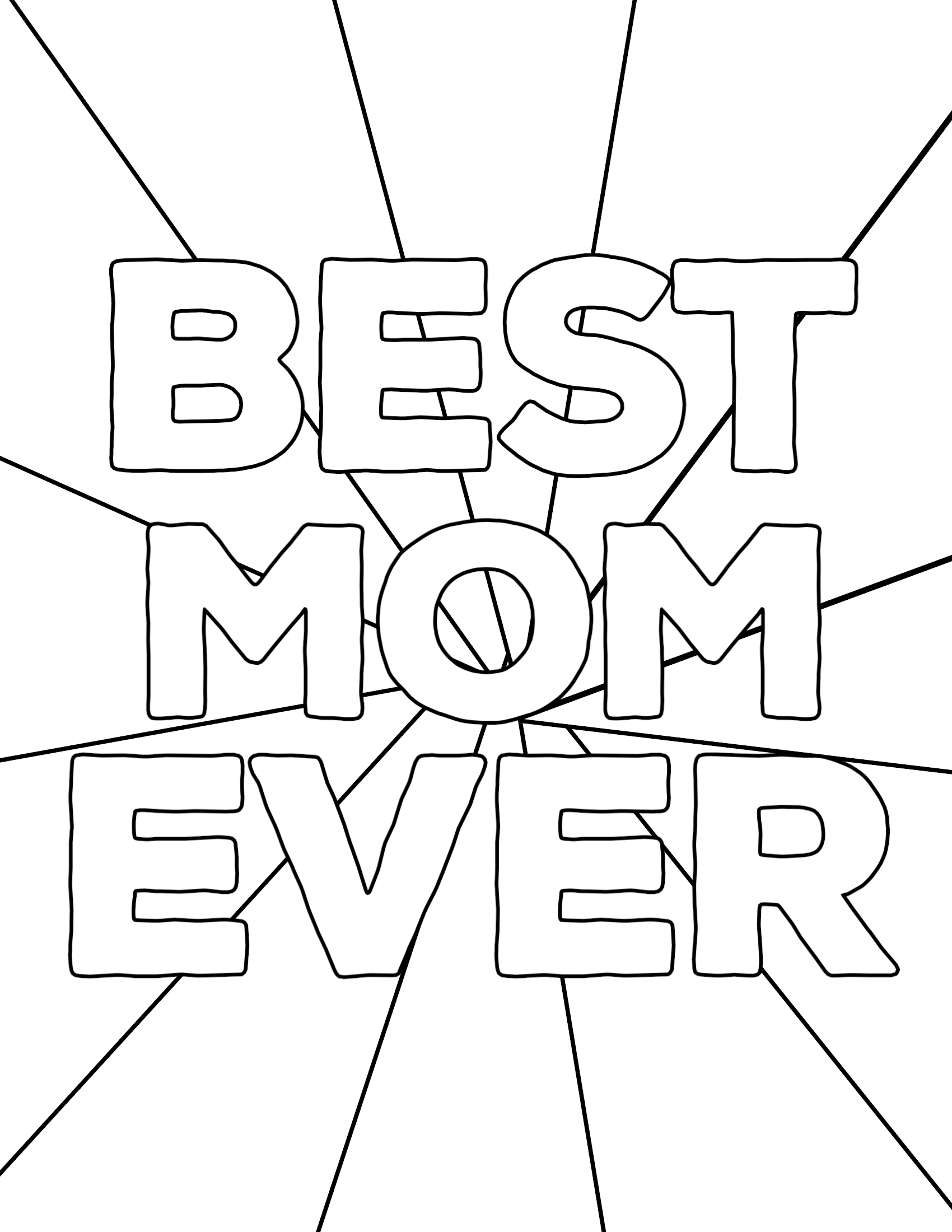 Free Printable Mother's Day Coloring Pages | Paper Trail Design