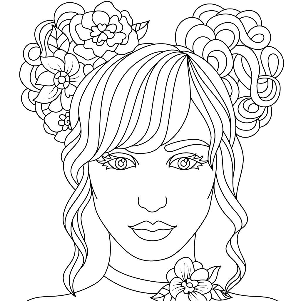 Persons Coloring Pages - Coloring Home