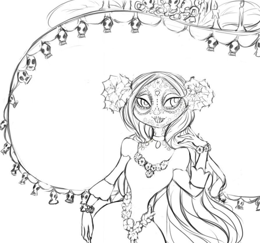 The Book of Life Coloring Pages