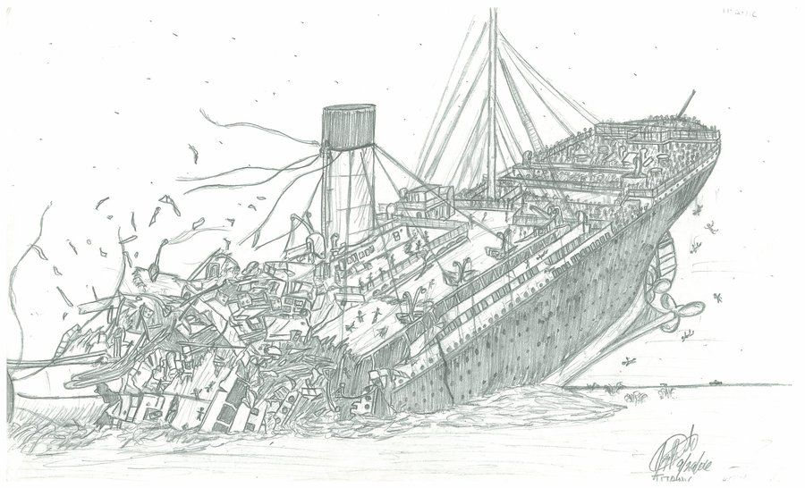Coloring Pages Of A Sunken Ship