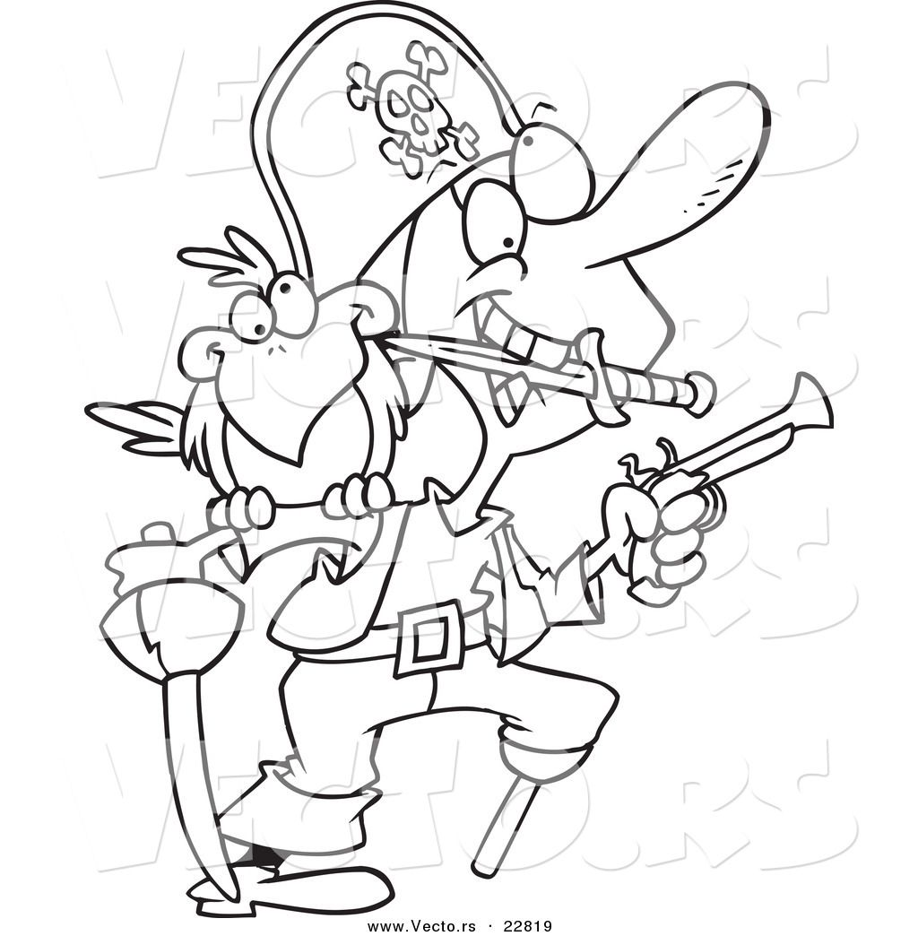 printable pirate coloring pages free coloring pages