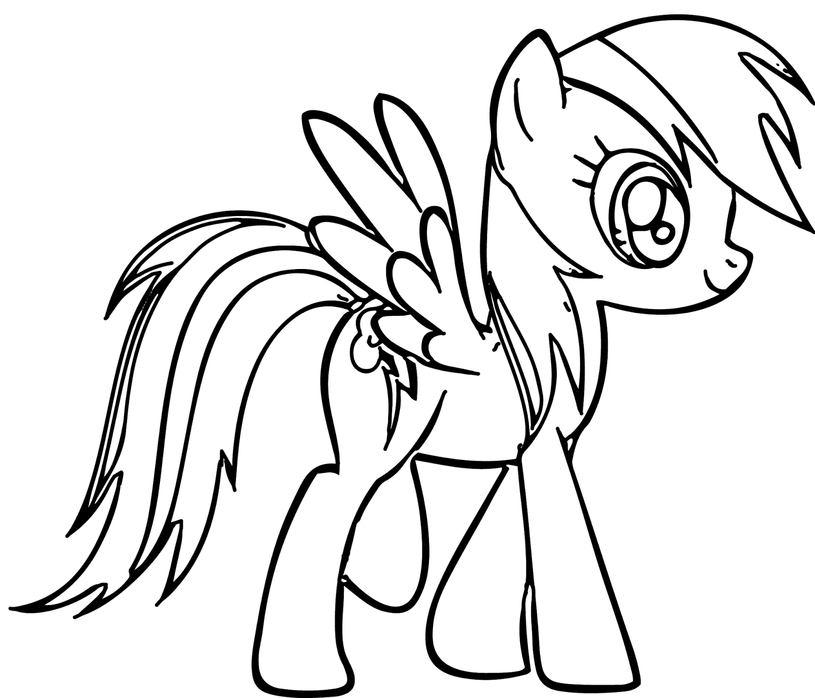 11 Pics of Heart Coloring Pages Rainbow Dash - Rainbow Dash ...