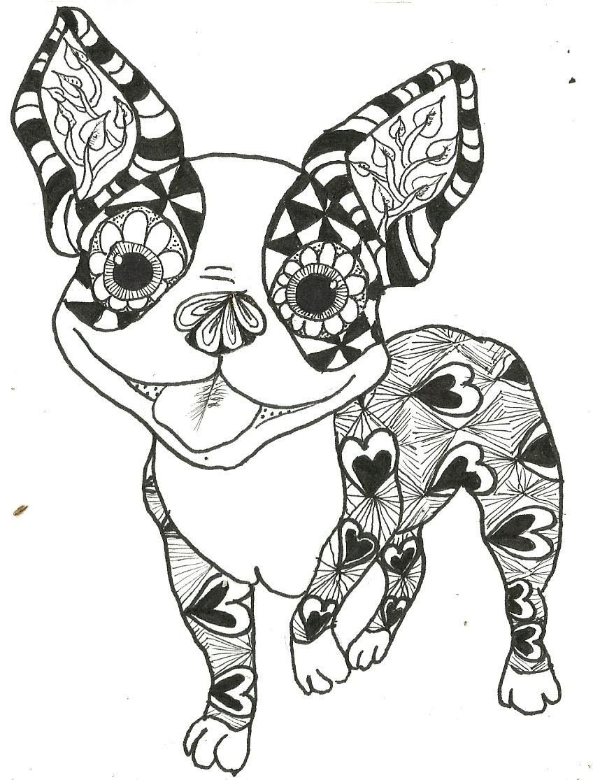 Boston Terrier Coloring Pages Printable - Coloring Home