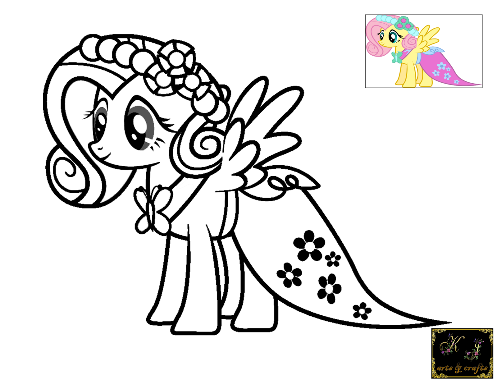 My Little Pony Gala Coloring Pages : My little pony pictures coloring pages rainbow dash
