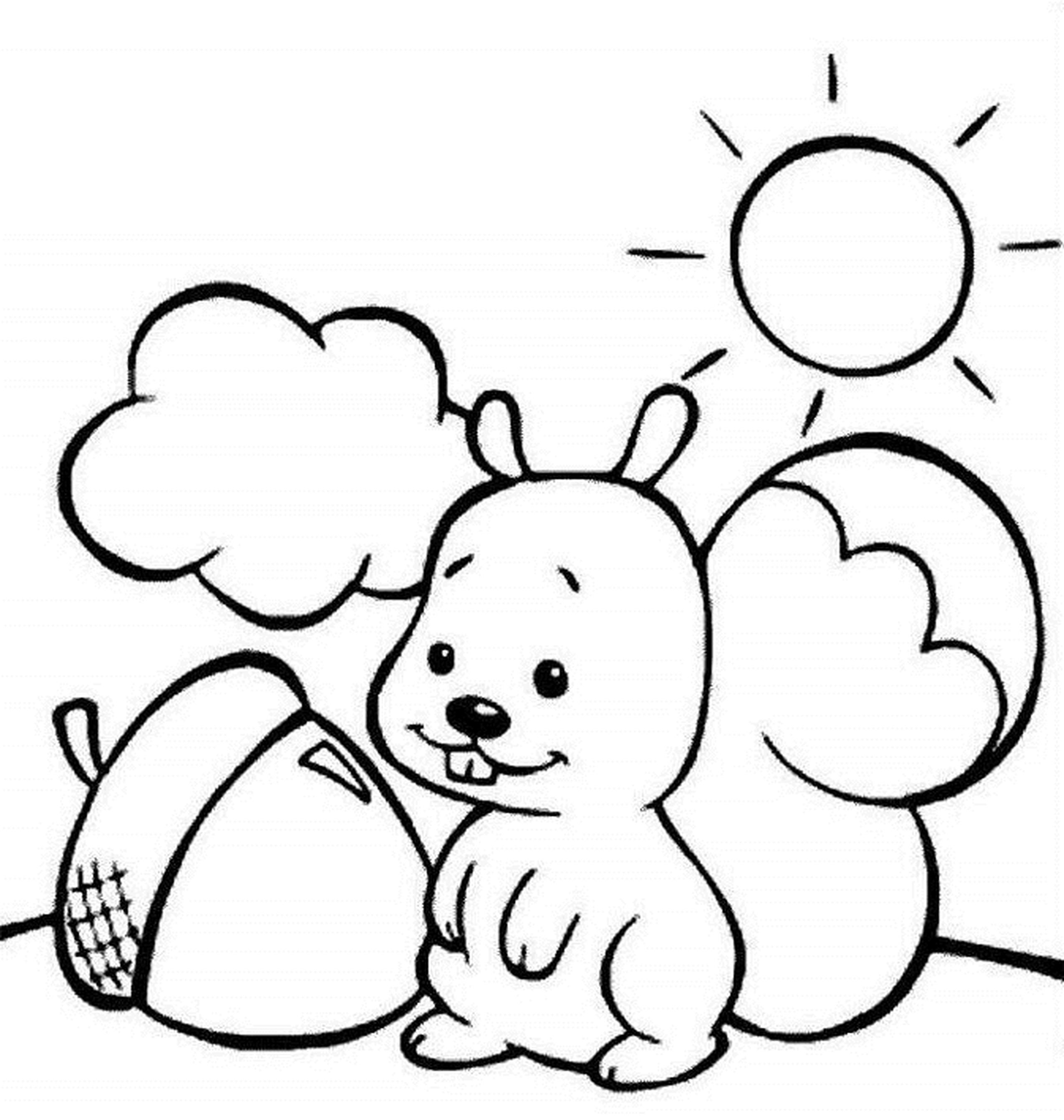 Coloring Pages: Free Printable Fruit Coloring Pages For Kids, Cute ...