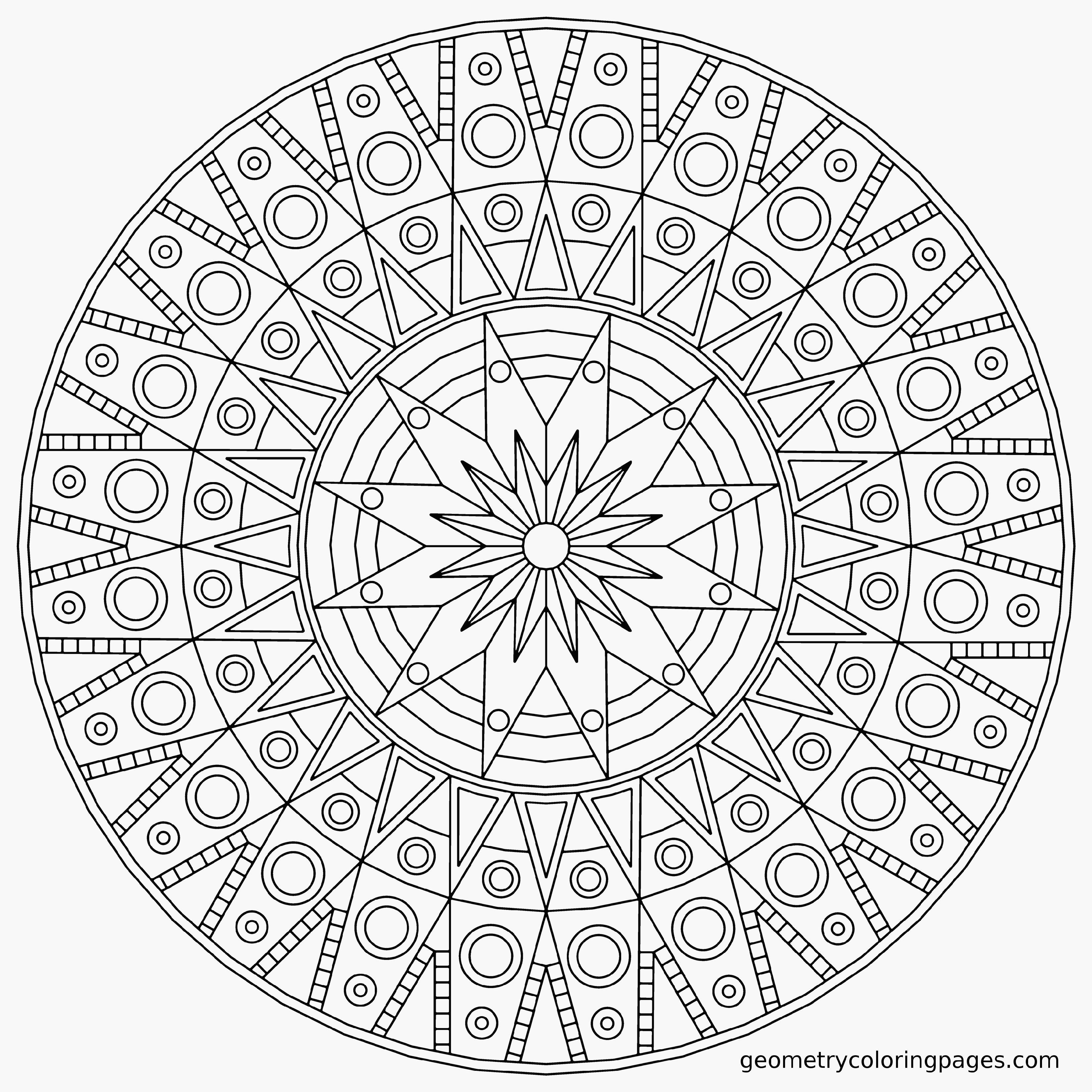 Mandala Coloring Pages Expert Level Printable Coloring