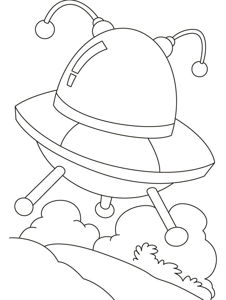 Alien Coloring Pages  Free Coloring Printables for Kids