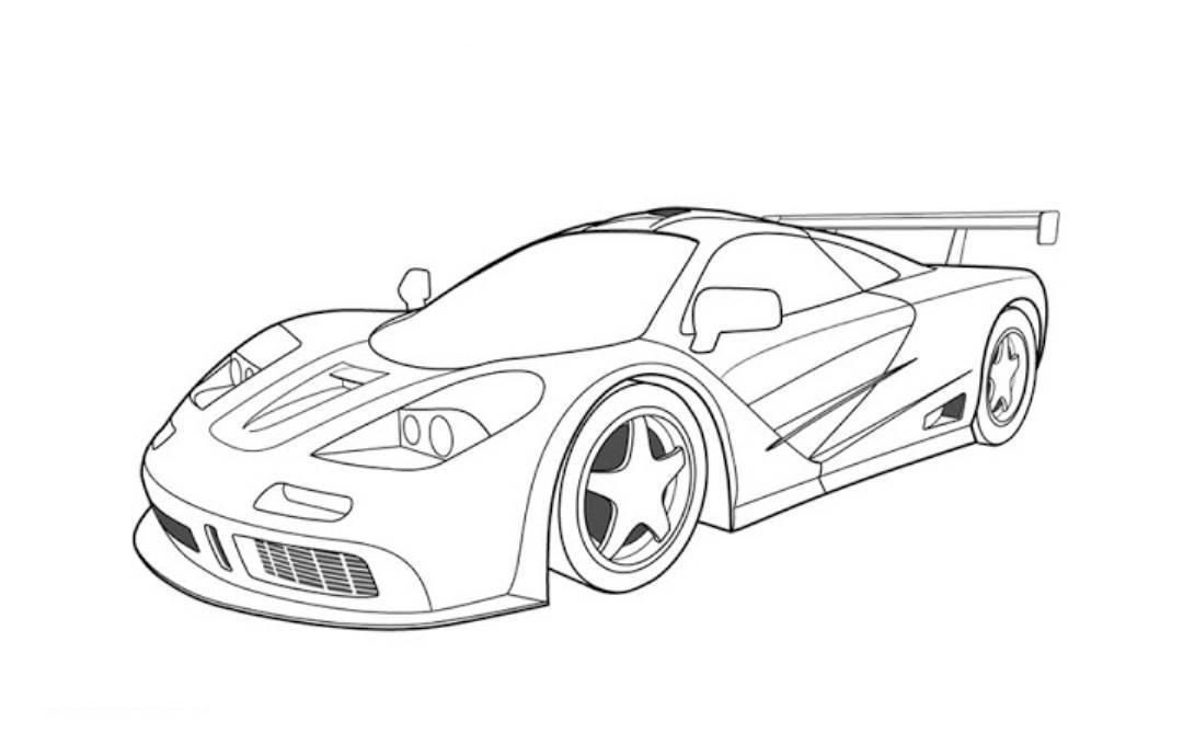 gta 5 cars Colouring Pages | Cars coloring pages, Sports ...
