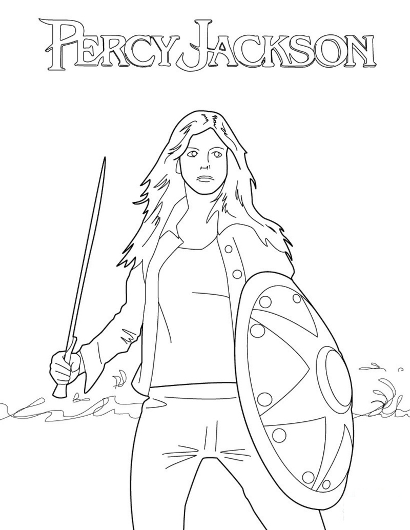 Percy Jackson Coloring Pages Coloring Home