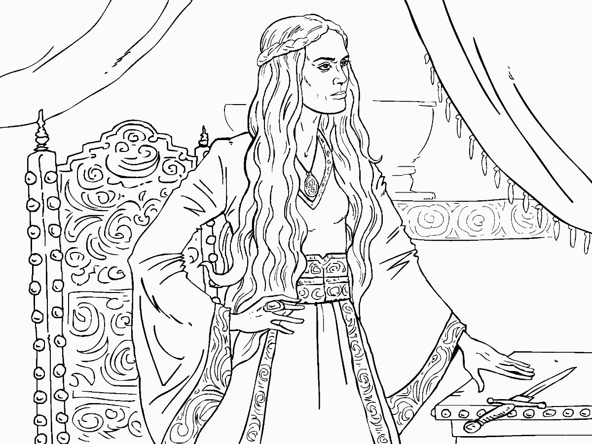 Game Of Thrones Coloring Pages | uwcoalition.org