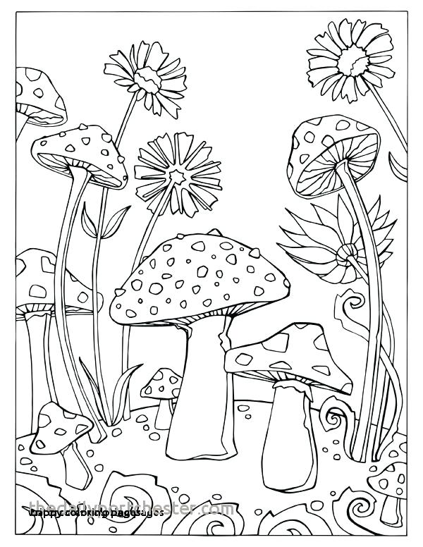 Mushrooms Coloring Pages - Coloring Home
