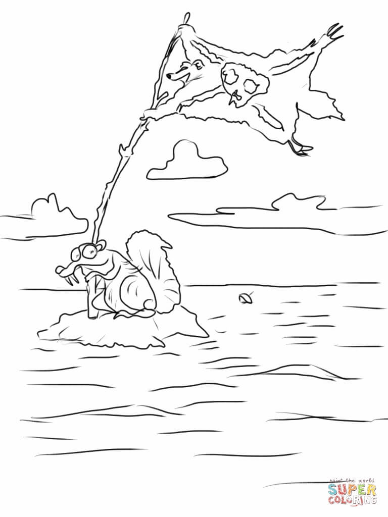 Animals Of The Ice Age Coloring Pages - Coloring Home