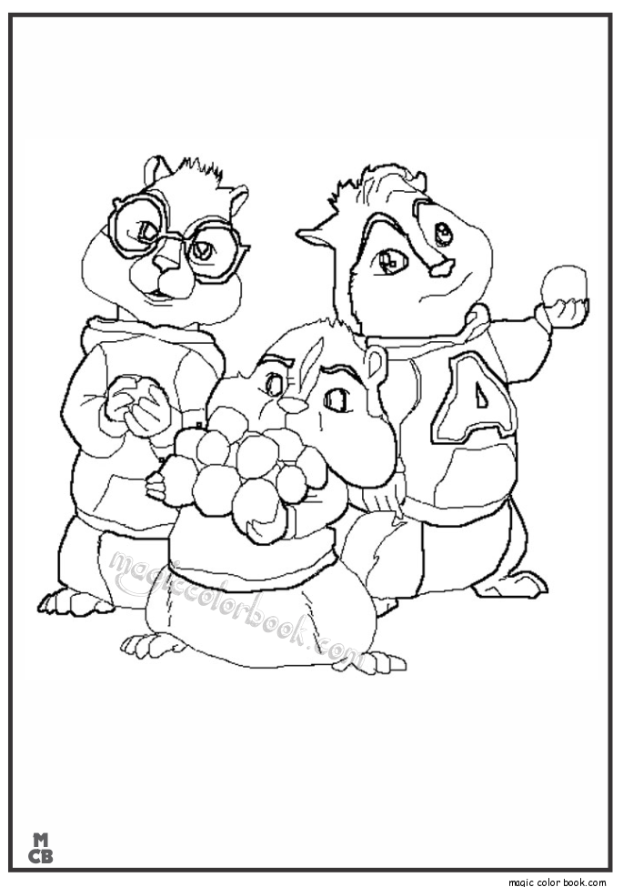 Coloring pages alvin and the chipmunks 2 az coloring pages for Alvin coloring pages
