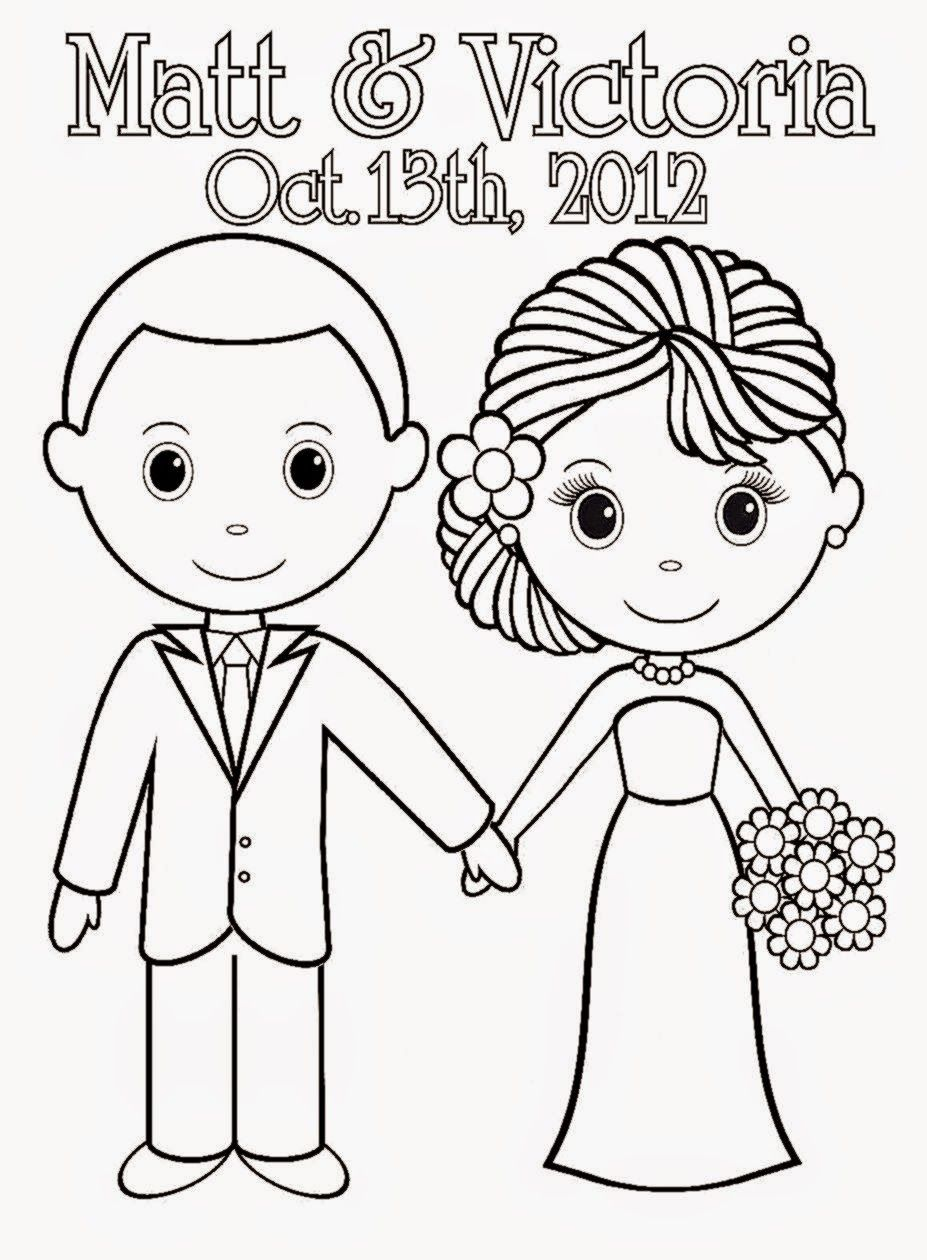 kids wedding coloring pages coloring home