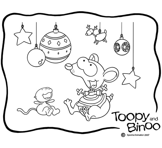 Toopy And Binoo Coloring Home Toopy And Binoo Colouring Pages