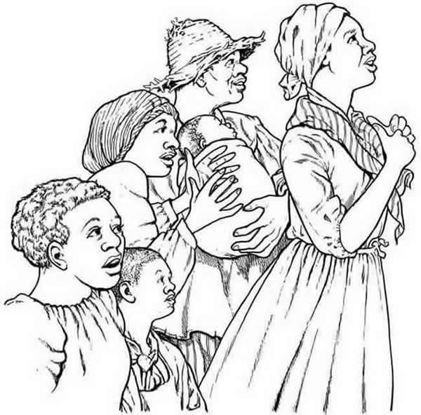 underground railroad coloring page coloring home. Black Bedroom Furniture Sets. Home Design Ideas