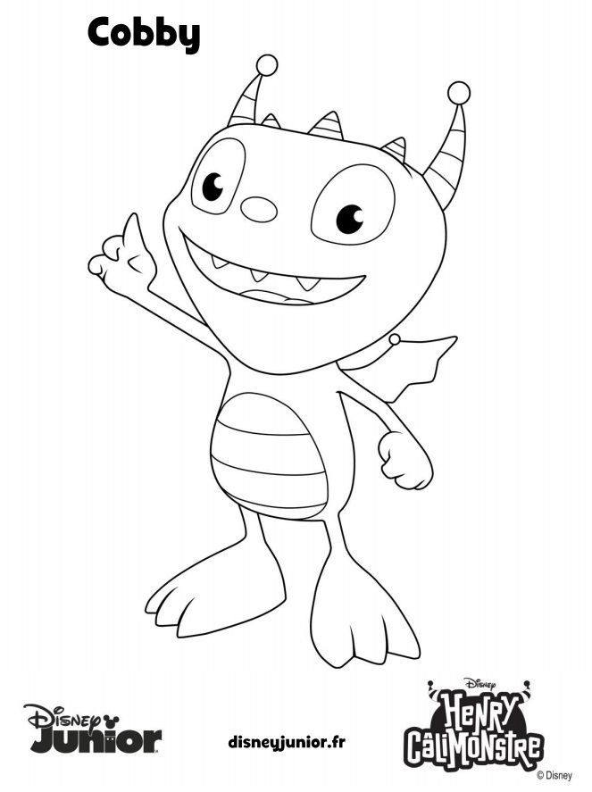 henry wiggle bottom coloring pages - photo#2