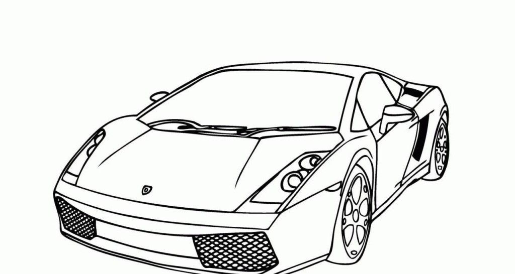 Lamborghini Coloring Pages To Print - Coloring Home