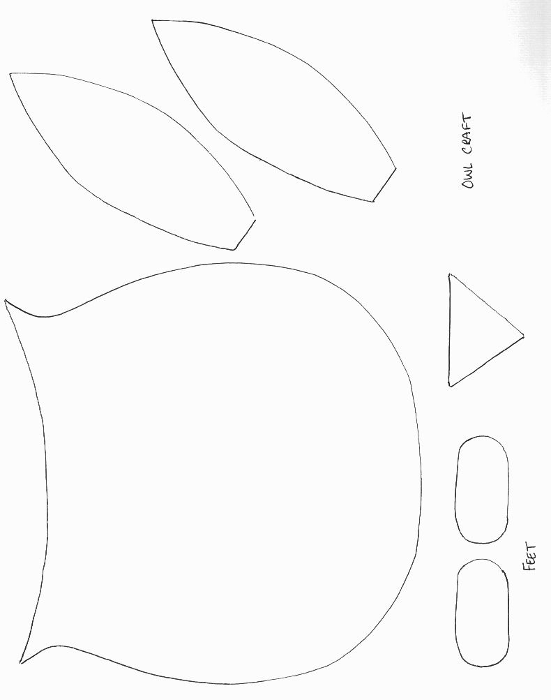 Printable Owl Pattern AZ Coloring Pages – Owl Template