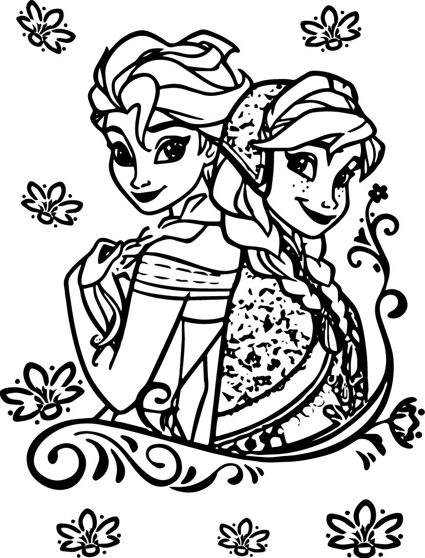 Elsa Coloring Pages - Coloring Home
