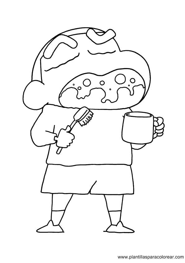 Shin chan coloring page coloring home for Shin chan coloring pages