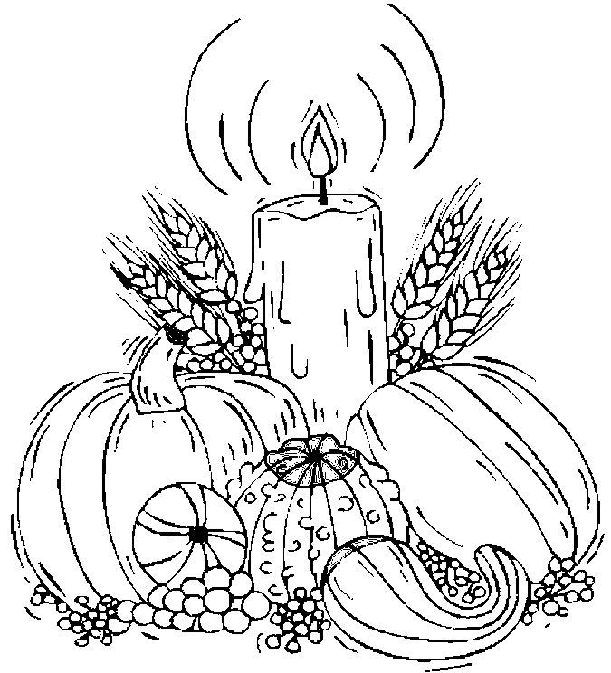 Coloring sheets | Thanksgiving ...