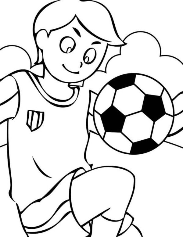 coloring pages for boys soccer - photo#3