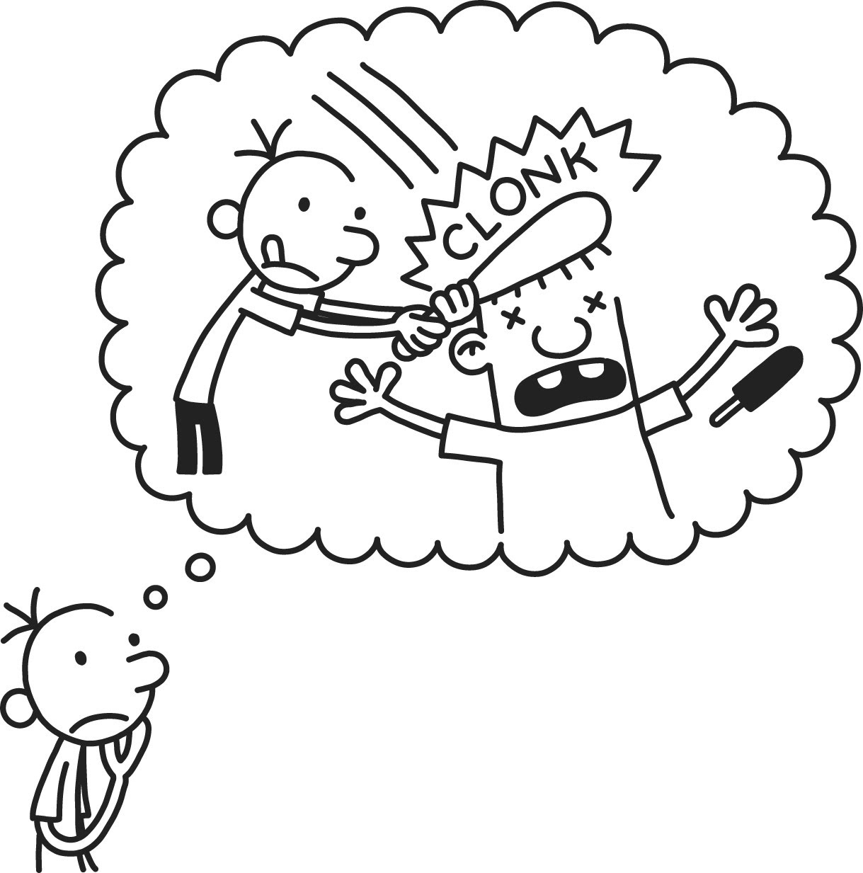 Diary Of A Wimpy Kid The Long Haul Coloring Pages