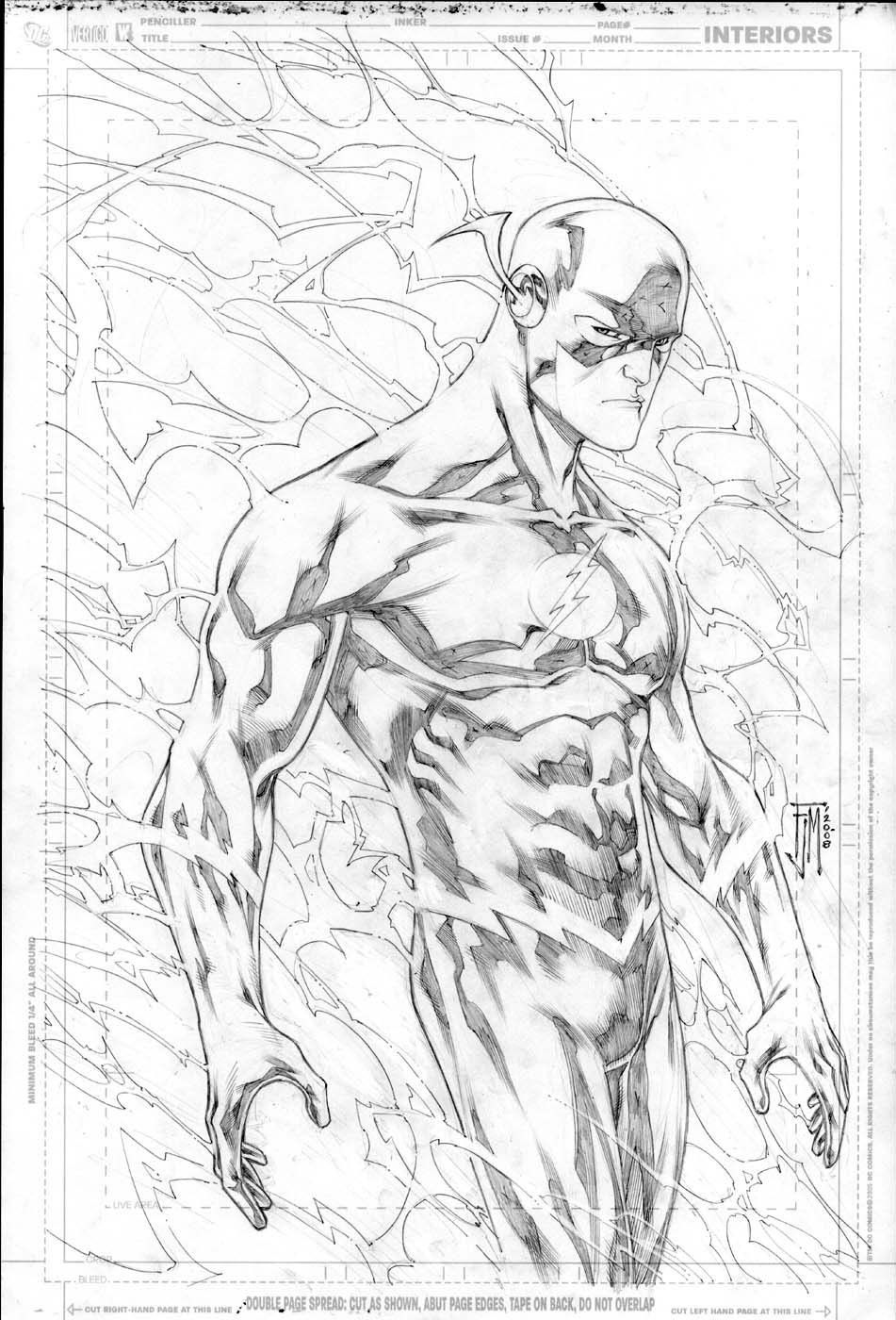 Dc Comics The Flash Coloring Pages The Flash Coloring