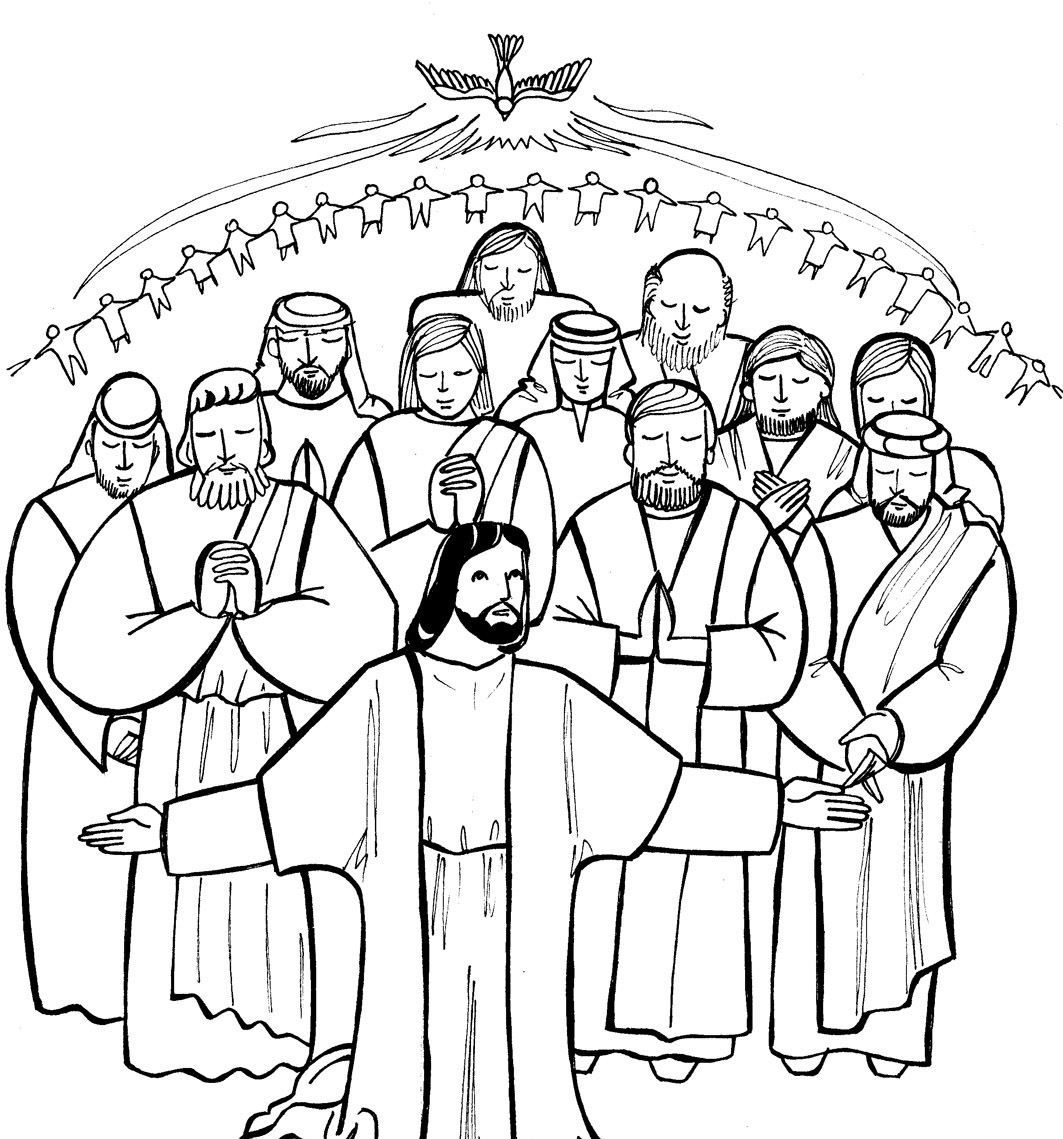 - All Saints Day Coloring Pages - Coloring Home