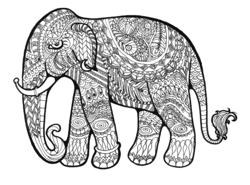 Printable Hard Pattern Coloring Pages - Coloring Home